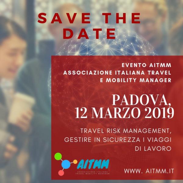 Save the Date! Padova, 12 marzo 2019